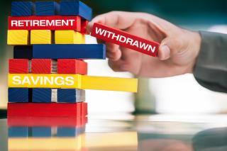 Withdrawing retirement money